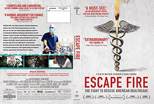 Escape Fire DVD Cover