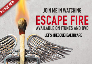 Join me in watching Escape Fire on CNN March 10th at 8PM ET